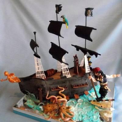 Торт оформленный фруктами фото 7
